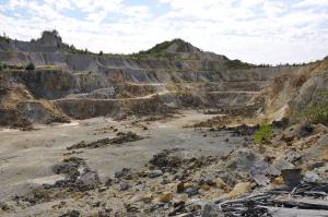 Rosia Montana – Open-Pit auf dem alten Goldbergbaugelände
