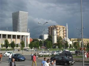Skanderbeg-Platz in Tirana (Foto: Tobias Weidinger)