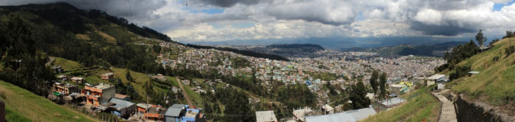 Quito in Ecuador (Foto: Fabian Franke)