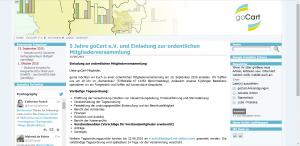 Screenshot von http://www.gocart-online.com/ am 16.08.2015